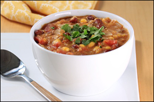 Hungry Girl's Southwest Bean & Corn Chowder