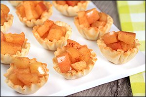Hungry Girl's Apple Pie Bites