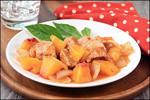 Hungry Girl's Peachy BBQ Pork