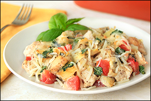 Hungry Girl's Italian-Style Chicken Bake