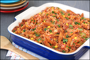 Hungry Girl's Mexican Baked Ziti