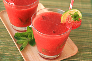 Hungry Girl's Strawberry Frojitos