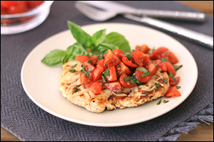 Hungry Girl's Caprese Chicken