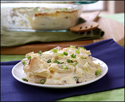 Scalloped Turnips, Potatoes and Bacon with Béchamel Sauce} | Krew i ...