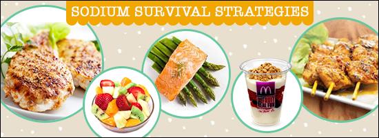 Sodium Survival Strategies