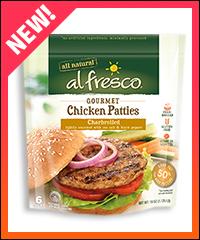 Al Fresco Gourmet Chicken Patties
