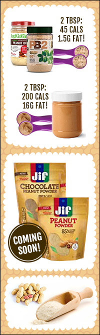 All About Powdered Peanut Butter