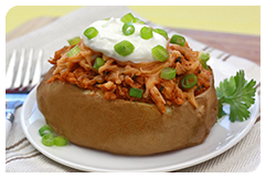 Best HG Potato Recipes: BBQ Chicken Stuffed Potato