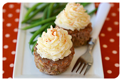 Best HG Potato Recipes: Mashie-Topped Meatloaf Cupcakes