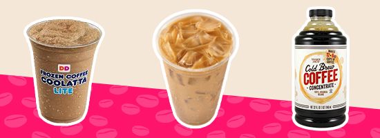 Better-for-You Coffee Drinks at Dunkin' Donuts and More
