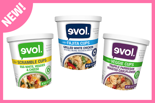 Healthy Frozen Snack & Meal Cups from Evol.