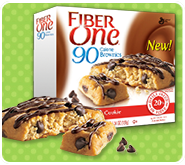 Fiber One's 90 Calorie Chocolate Chip Cookie