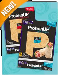 Flatout ProteinUP CarbDown Wraps