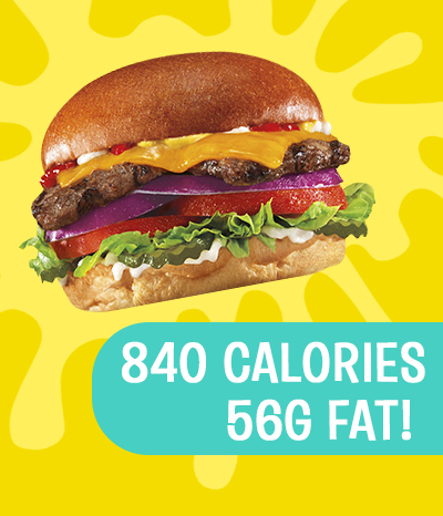 Hardee's All-Natural Burger Has Over 800 Calories