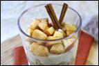 Cinnamon Apple Oatmeal Parfait Recipe