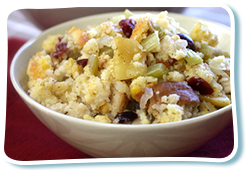 Hungry Girl's Cran-tastic Apple Cornbread Stuffing