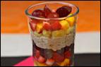 Fruit Salad Oatmeal Parfait Recipe