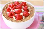 Raspberry White Chocolate Oatmeal Recipe
