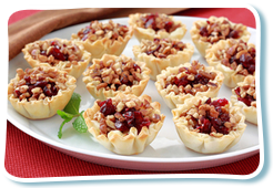 Hungry Girl's Savory Cranberry & Cheese Bites