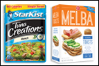 StarKist Tuna Creations + Old London Melba Toasts