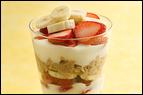 Strawberry-Banana Oatmeal Parfait Recipe