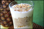 Tropical Oatmeal Parfait Recipe
