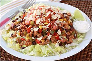 Hungry Girl's Turkey Taco Salad