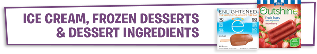 Ice Cream, Frozen Desserts & Dessert Ingredients