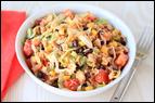 Mini Meals vs. Three Square Meals: Tuna Taco Salad