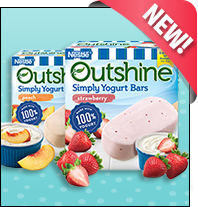 Nestlé Outshine Simply Yogurt Bars