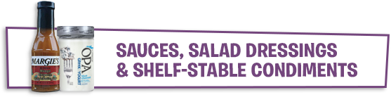 Sauces, Salad Dressings & Shelf-Stable Condiments