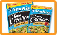 Savory Snack: Tuna Pouches