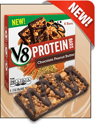V8 Protein Bars