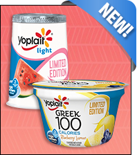 Yoplait Limited-Edition Summer Flavors