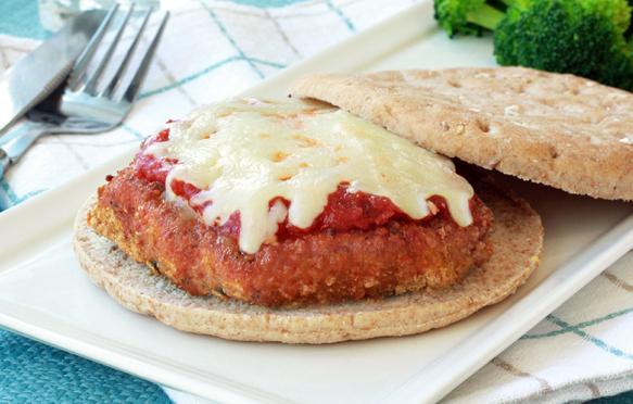 Chicken Parmesan Sandwich, Healthy Chicken Parmesan Recipe | Hungry ...