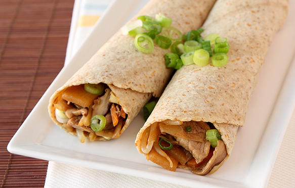 Healthy Moo Shu Pork Recipe, Chinese Takeout Swap | Hungry Girl