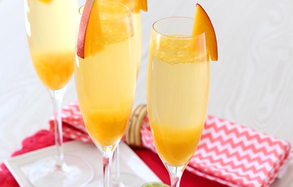 Pineapple And Mango Rum Cocktails Recipe — Dishmaps