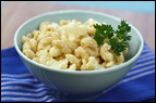 Cauliflower-Boosted Mac & Cheese