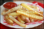Baked Potato 'n Turnip Fries