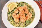Zucchini Spaghetti with Shrimp