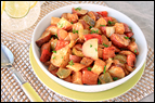 Warm BBQ Potato Salad