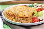 Taco-Turkey Spaghetti Squash Bake