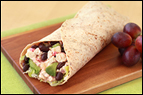 Mexican Chopped Chicken Wrap