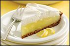 Hungry Girl's Yummy Crumbly Lemon Meringue Pie