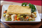 Four-Ingredient Chicken Pot Pie Recipe