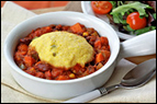Cornbread-Topped Veggie Chili Recipe