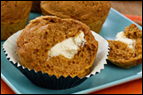 Pumpkin Cream Cheese Muffin Recipe