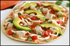 Chicken Avocado Flatbread Recipe