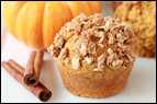 Pumpkin Streusel Muffin Recipe