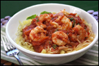 Spaghetti Squash & Shrimp Recipe